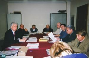 Réunion de l'Alliance en 1991 avec Guy Fouchet et Paul Marcel