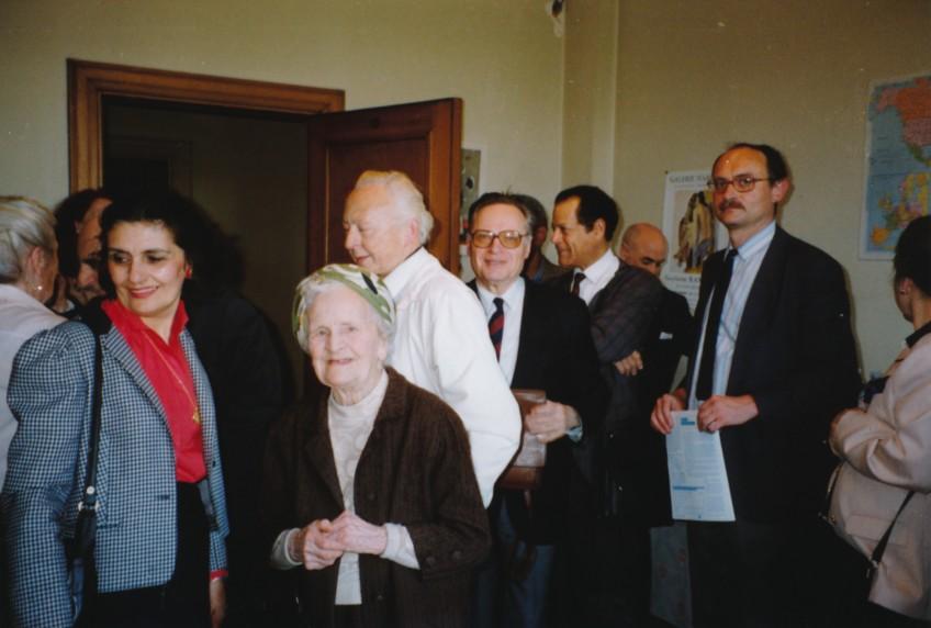 Anniversaire de Jeanne Thomas en 1991